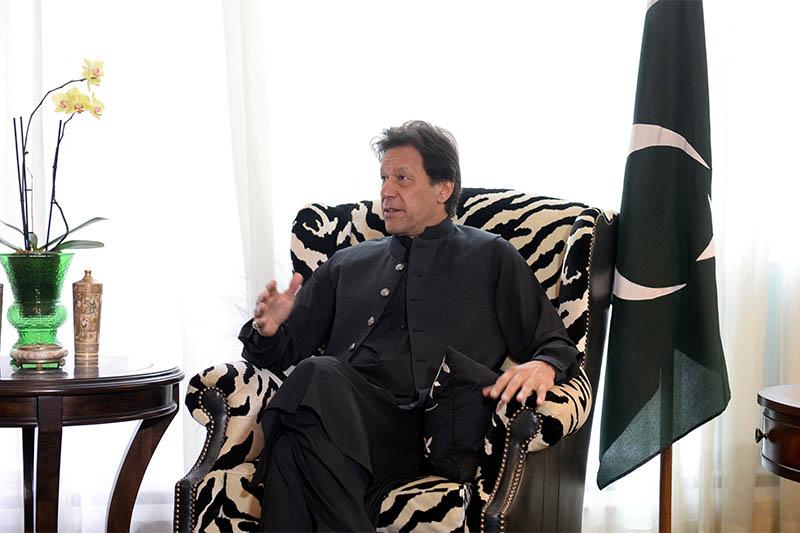 FILE: Pakistanu2019s Prime Minister Imran Khan. Photo: Reuters