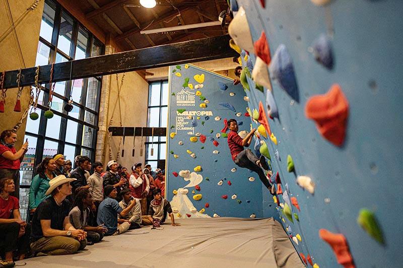 KCC facility boasts the worldu2019s highest Walltopia indoor training wall at 3,840 metres. Photo courtesy: Amrit Ale