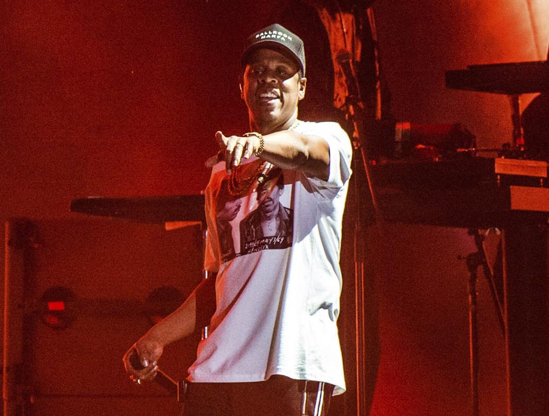 Jay-Z performs at the Austin City Limits Music Festival on October 13, 2017 in Austin, Texas. Photo: AP
