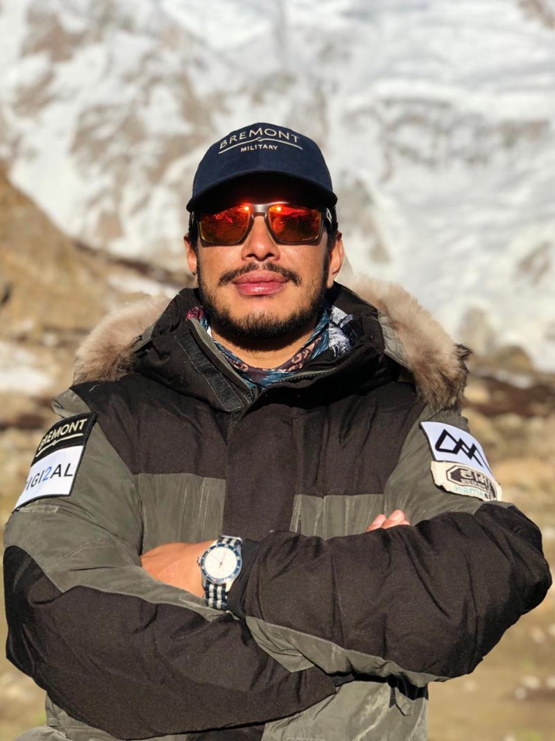 FILE - Nirmal Purja, a former UK's Special Forces Member is in a mission to complete all 14 peaks above 8,000 m in just seven months.