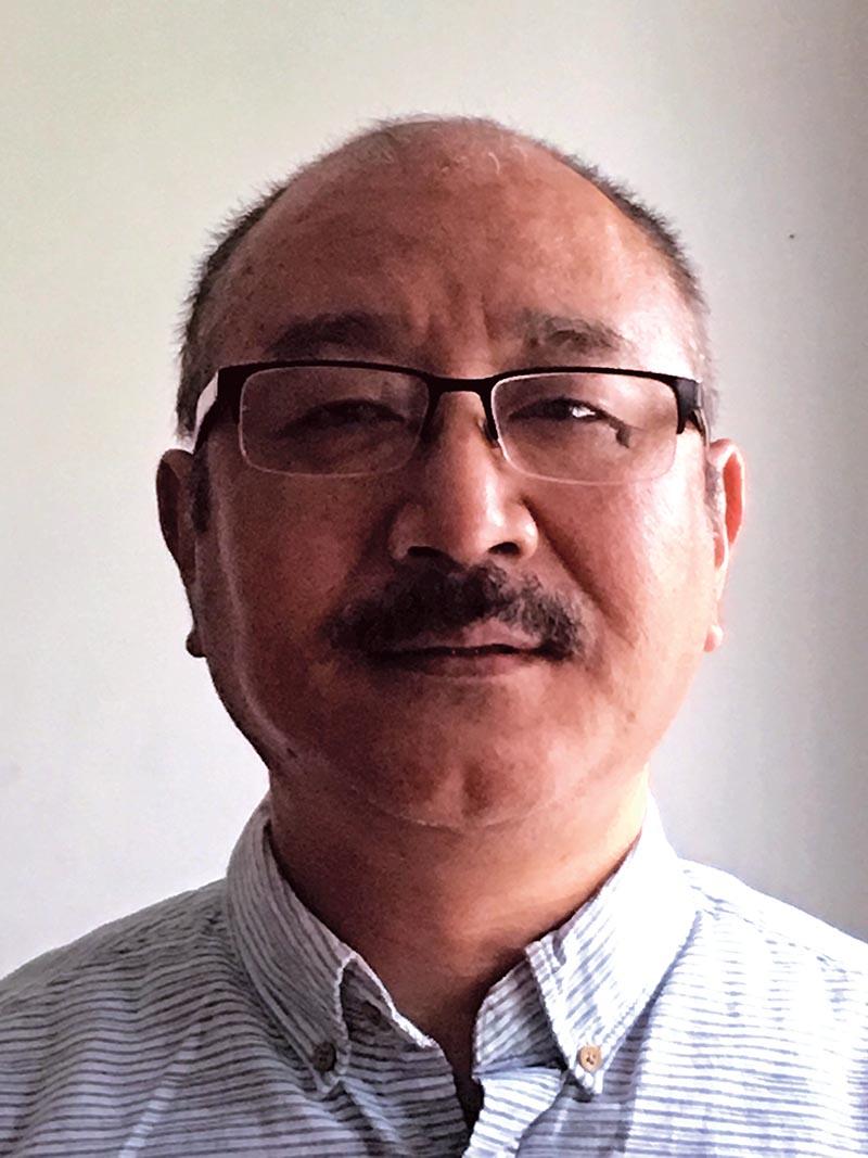 Penpa Tsering, a US citizen who was deported from Tribhuvan International Airport on June 22. Photo Courtesy: Penpa Tsering