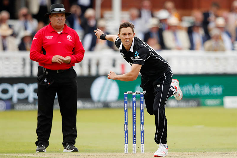 New Zealand's Trent Boult in action. Photo: Reuters