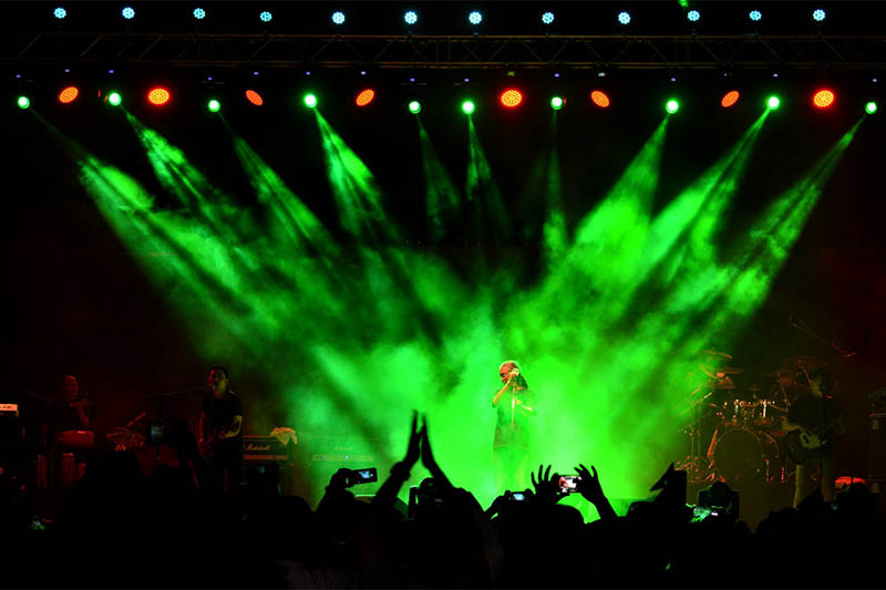 Nepathya performing at a live concert in Doha, on Monday, August 12, 2019. Courtesy: Nepathya