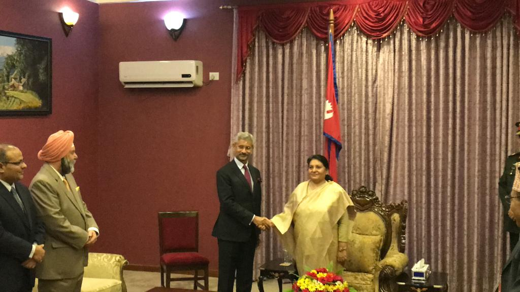 Photo Courtesy: Twitter/Indian Embassy in Nepal