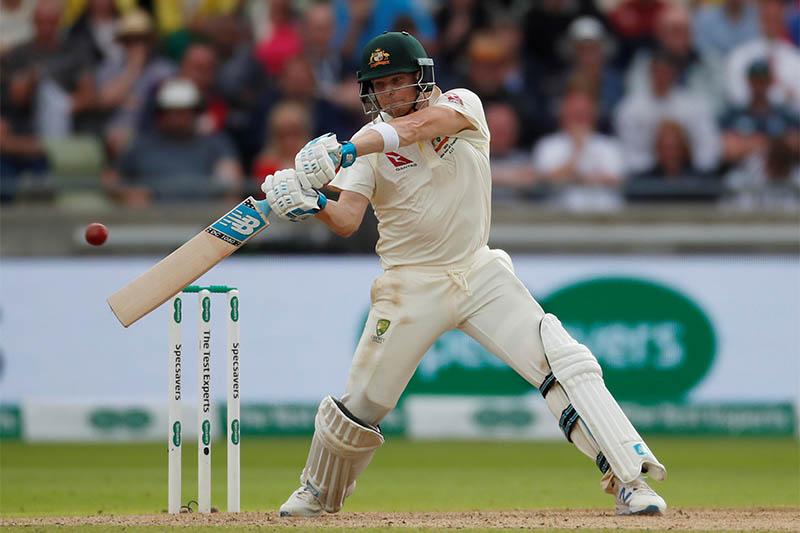 Australia's Steve Smith in action. Photo: Reuters