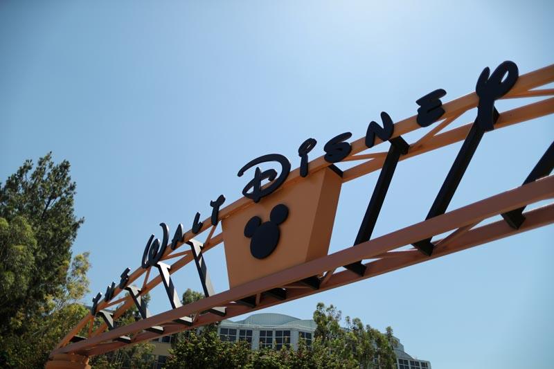 The entrance to Walt Disney studios is seen in Burbank, California, US August 6, 2018. Photo: Reuters/File