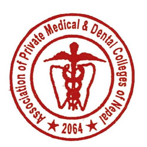 Association of Private Medical and Dental Colleges of Nepal logo.