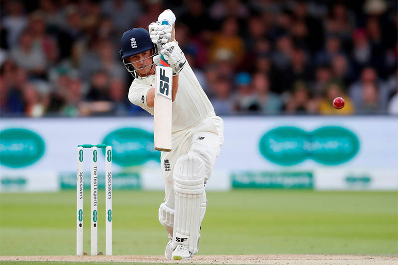 England's Joe Denly in action. Photo: Reuters