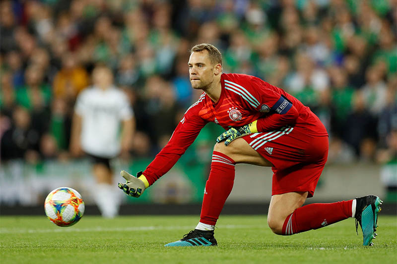 Germany's Manuel Neuer in action. Photo: Reuters