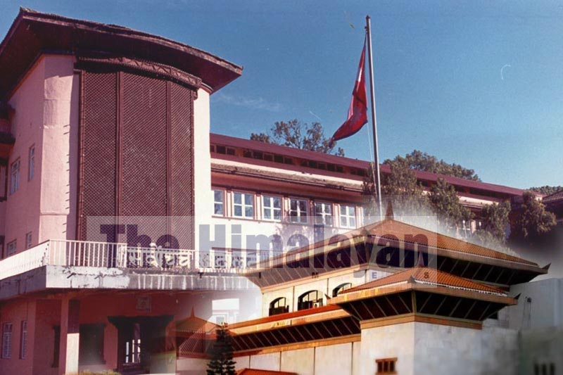 This rendered image shows Supreme Court of Nepal and Parliament building. Photo: THT