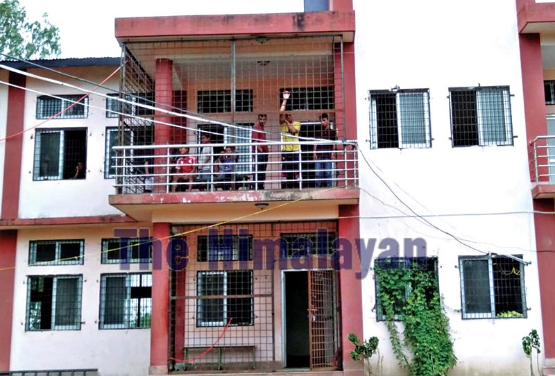 A view of the juvenile correction centre in Duduwa Rural Municipality, Banke, on Saturday.u00a0Photo: THT