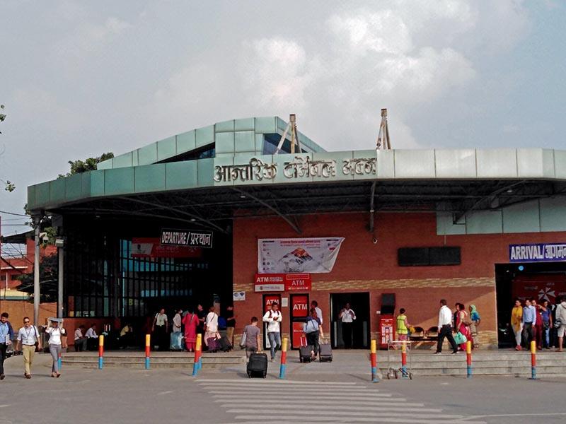 A view of domestic terminal in Tribhuvan International Airport, in Kathmandu. Photo: Sandeep Sen/ THT Online