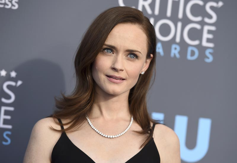 FILE - This January 11, 2018 file photo shows Alexis Bledel at the 23rd annual Critics' Choice Awards in Santa Monica, California. Photo: AP
