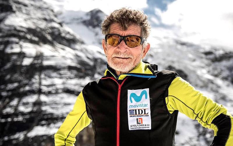 Veteran Spanish mountaineer Carlos Soria. Courtesy: Soria