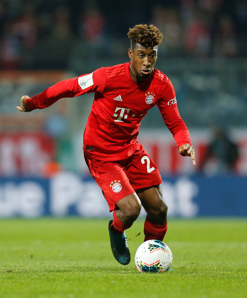 Bayern Munich's Kingsley Coman in action. Photo: Reuters
