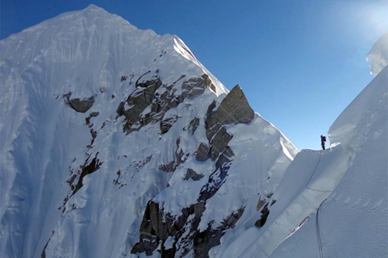 File photo: Rolwaling mountain. Courtesy: Domen Kastelic collection