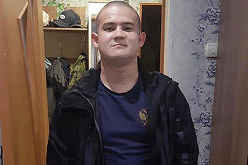 This undated photo shows Ramil Shamsutdinov, a soldier who has gone on a shooting spree in Siberia on Friday, Oct. 25, 2019 at a military base in the town of Gorny in the Baikal Lake region about 150 kilometres (93 miles) north of the border with Mongolia. The Russian Defence Ministry says a soldier has gone on a shooting spree in Siberia, killing eight fellow servicemen and wounding two others before being apprehended. Photo: Project Baza via AP