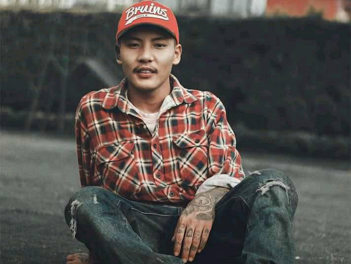 Rapper Samir Ghising (VTEN) Photo: Facebook/Samir Ghising