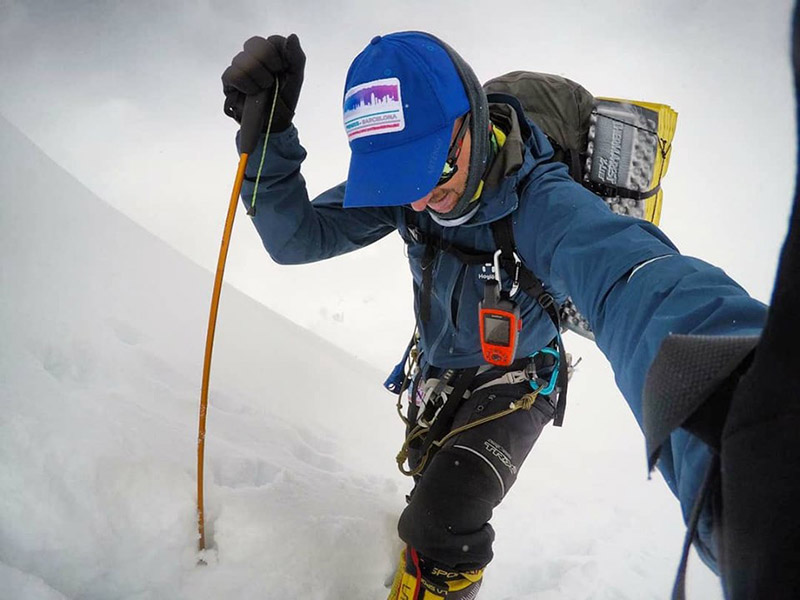 Spanish climber Sergio Mingote Moreno. Courtesy: Moreno