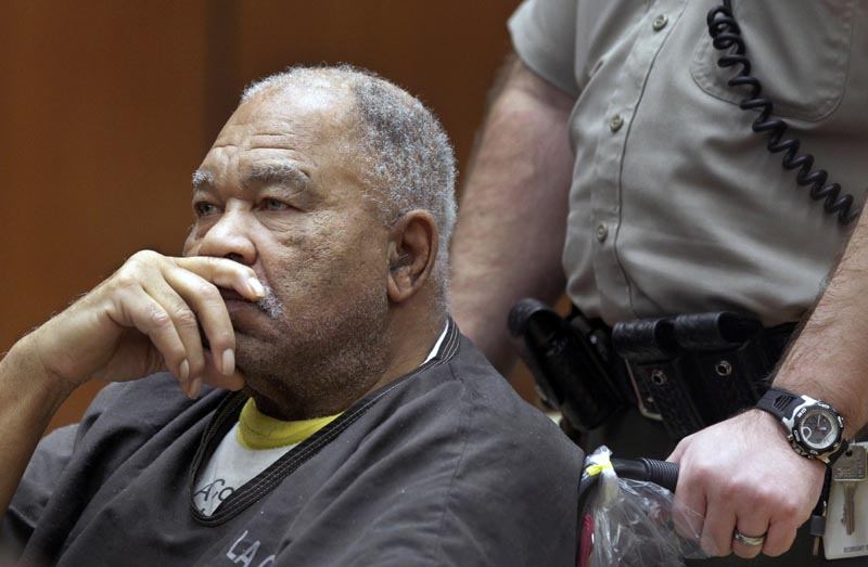 Samuel Little appears at Superior Court in Los Angeles, March 4, 2013. Photo: AP/File
