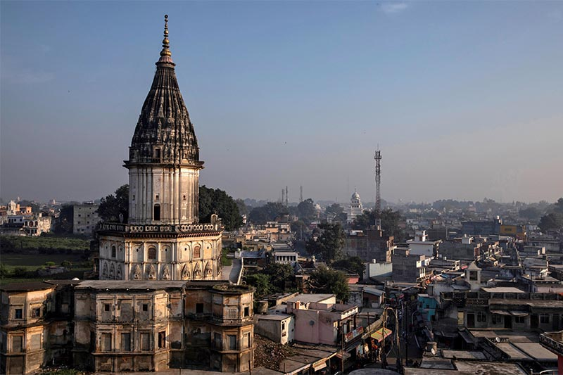FILE - A general view of Ayodhya city, India, on October 22, 2019. Photo: Reuters