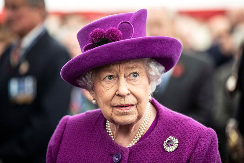 Britain's Queen Elizabeth II visits Royal British Legion Industries village in Aylesford, Britain, November 6, 2019. Photo: Reuters