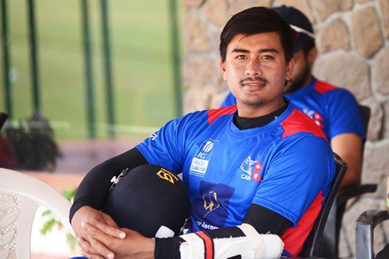 Gyanendra Malla. Photo Courtesy: Cricket Association of Nepal/ Facebook