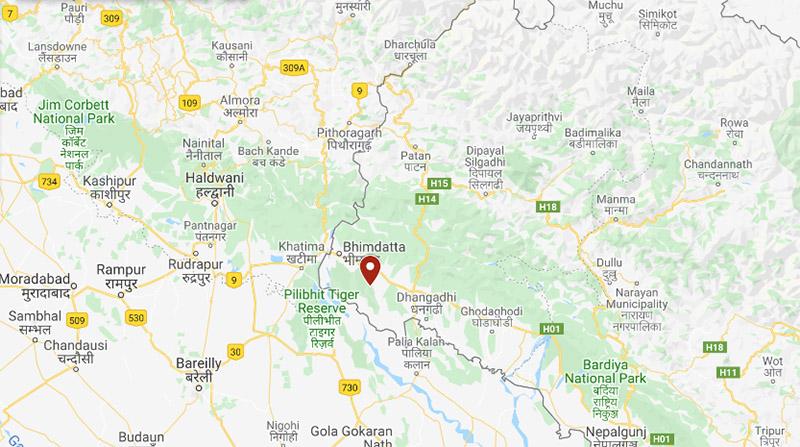 Kanchanpur district. Photo: Google Maps