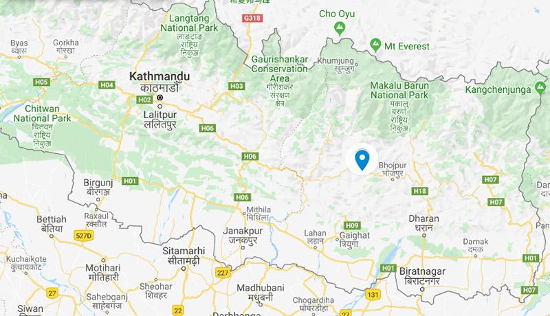 Khotang district. Photo: Google Maps