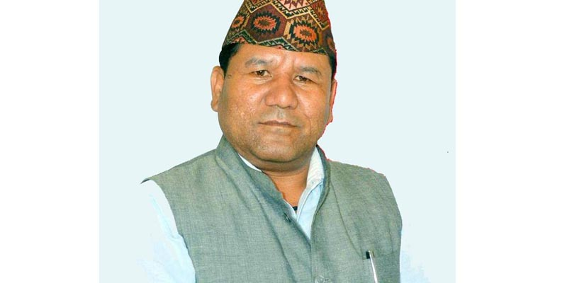 This undated image shows Sudurpaschim State Minister for Industry, Tourism, Forest and Environment, Prakash Rawal. Photo: Tekendra Deuba/ THT