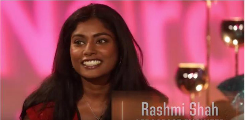 Rashmi Shah, PhD, NASA. Photo Courtesy: YouTube/Nerd Girl Nation