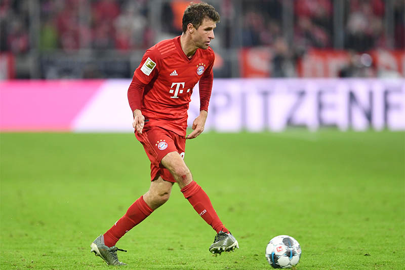 Bayern Munich's Thomas Muller in action. Photo: Reuters