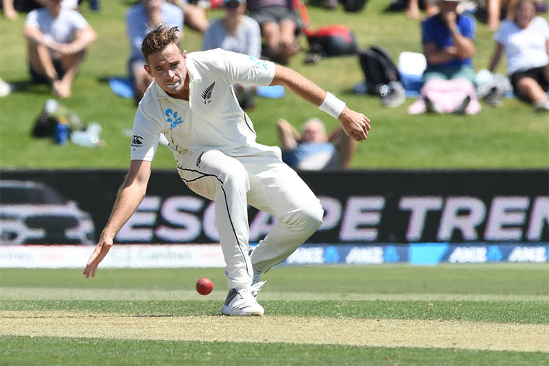 New Zealand's Tim Southee in action. Photo: Reuters