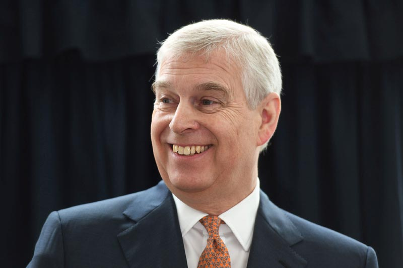 FILE: Britain's Prince Andrew, Duke of York visits the Royal National Orthopaedic Hospital to open the new Stanmore Building, in London, Britain March 21, 2019. Photo: David Mirzoeff/ Pool via Reuters