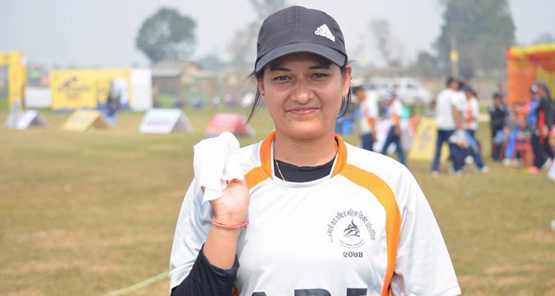 Anjali Chand. Photo credit: cricNepal