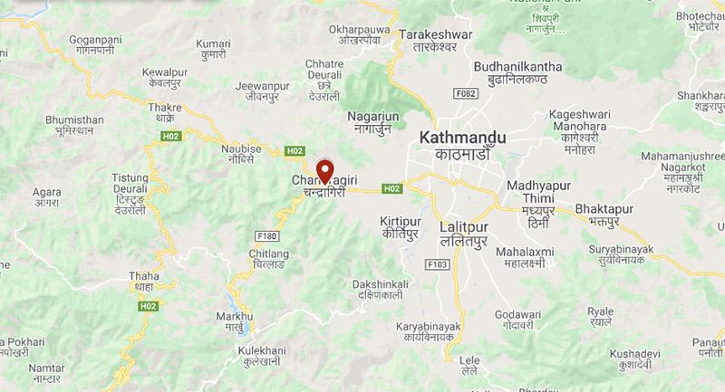 Chandragiri Municipality. Photo: Google Maps