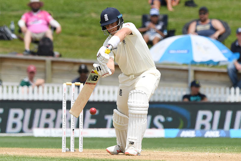England's Joe Root in action. Photo: Reuters