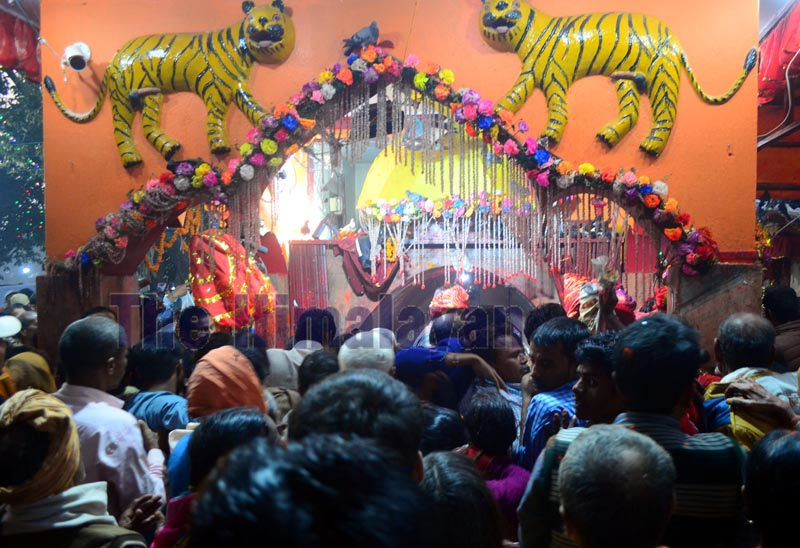 Devotees during the Gadimai Mela in Bara. Photo: Ram Sarraf