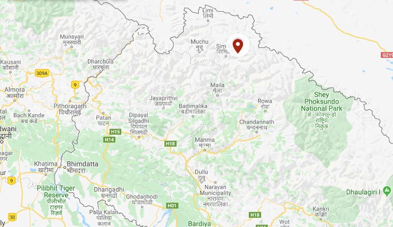 Humla district. Photo: Google Maps