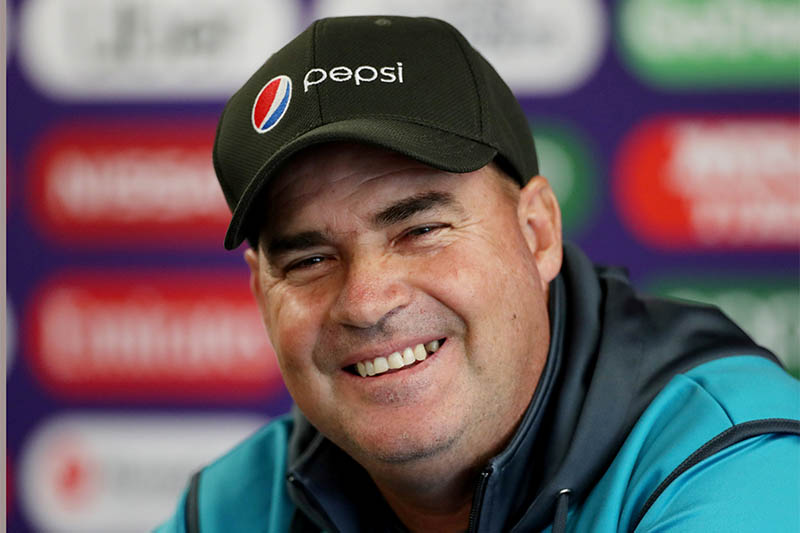 FILE PHOTO: Pakistan coach Mickey Arthur during a press conference. Photo: Reuters