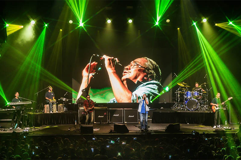 Nepathya performing during a live concert in Sydney, on Saturday, December 14, 2019. Courtesy: Arun Chaudhary