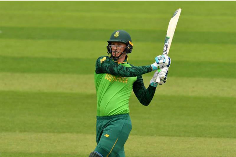 South Africa's batsman Rassie van der Dussen in action. Photo: Twitter/Rassie