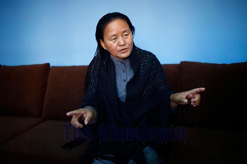 File - Deputy Speaker Shiva Maya Tumbahangphe. Photo: Skanda Gautam/THT