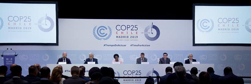 The United Nations Climate Conference (COP25) held in Madrid, Spain, on Thursday, December 12, 2019. Photo courtesy: UNFCCC