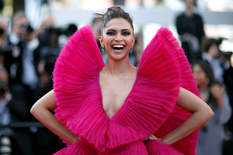 FILE PHOTO: Deepika Padukone poses for a portrait during 71st Cannes Film Festival in France, May 11, 2018. Photo: Reuters