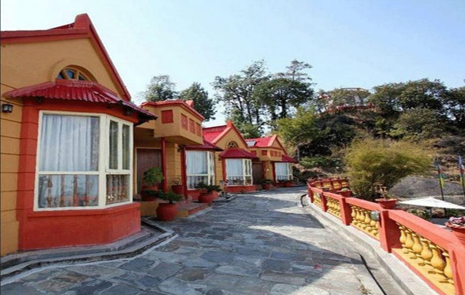This undated image shows the cottages of Everest Panorama Resort in Daman, Thaha Municipality, Makawanpur District. Photo courtesy: hotels.com