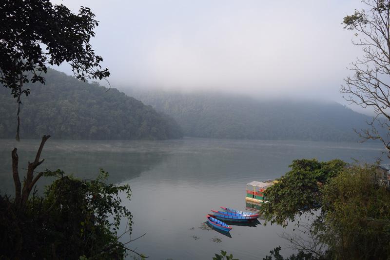 A view of Phewa Lake, Pokhara. Photo Courtesy: Rabin Gautam