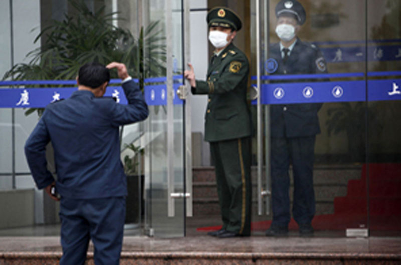 Mexican citizens quarantined in China. Source: Agencies