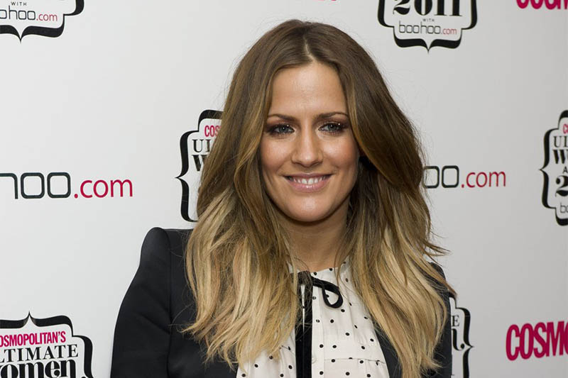 FILE - In this file photo dated Thursday, Nov. 3, 2011, British TV personality Caroline Flack arrives for the Cosmopolitan Ultimate Women of the Year Awards in London. Photo: AP