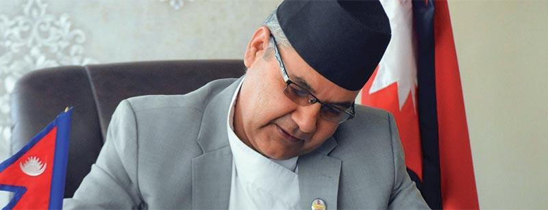 This undated image shows Minister of Communications and Information Technology Gokul Prasad Baskota. Photo courtesy: Twitter
